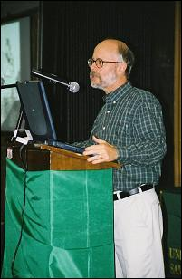 Michael Behe speaks at an IDEA Sponsored Event